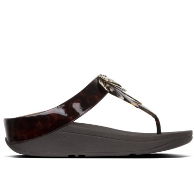 FITFLOP CONGA DRAGONFLY Marrón