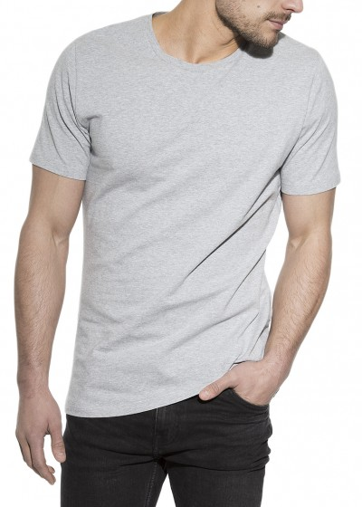CREW-NECK GREY MELANGE