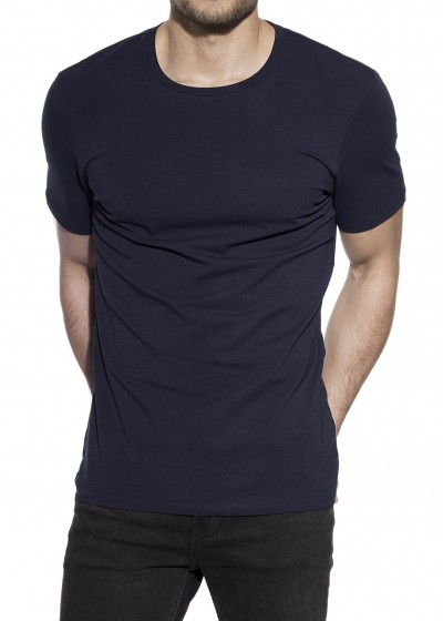 CREW-NECK DARK NAVY