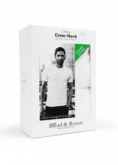 2-PACK CREW-NECK WHITE