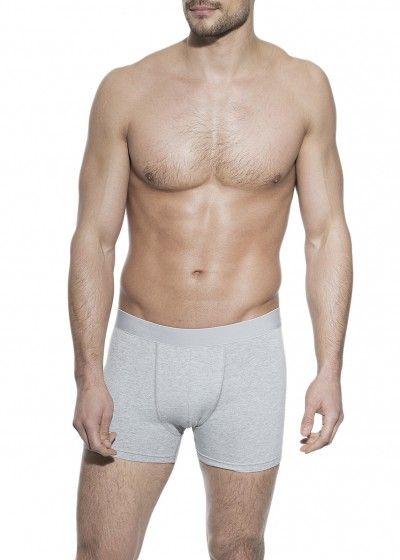 BOXER BRIEF GREY MELANGE
